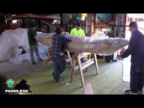 Kayak Wrapping & Shipping : Behind The Scenes At Appomattox River Company