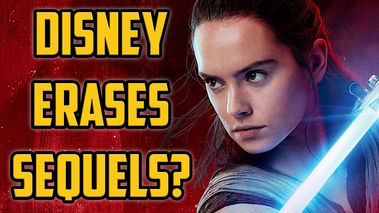 Star Wars Sequel Trilogy Removed From Canon By Disney Youtube