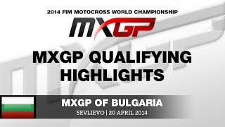 MXGP of Bulgaria 2014 MXGP Qualifying Race - Motocross