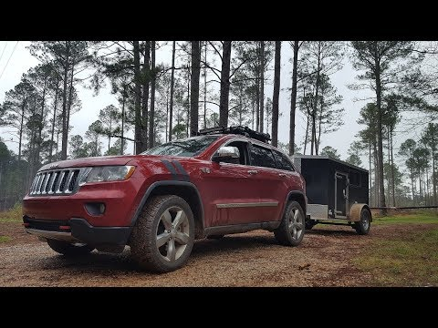 4x8 Enclosed Cargo INTO Overland Off Road Trailer - Purchase Review Walk Around Plans
