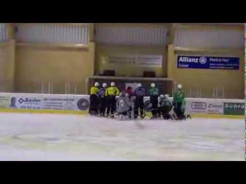 """Хоккейный клуб """"Автомобилист"""" в Альпах"""