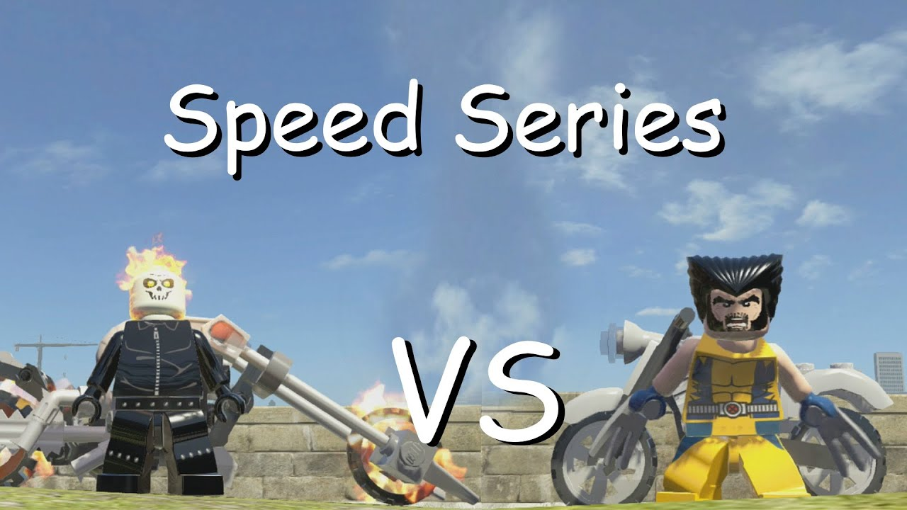 Lego Marvel Superheroes Speed Series S1 Ep 1 Youtube