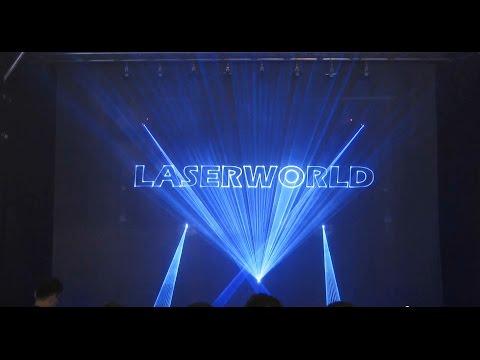 Lasershow at Prolight & Sound 2015 - Multi Media Show, Laser Show | Laserworld Group