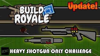 NEW! Heavy Shotgun ONLY Challenge! || Build Royale.io thumbnail