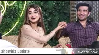Sajal ali and Feroz khan Exclusive Interview Full Mastii/Fun  YouTube