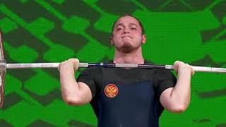 Artem Okulov seized the gold with a total lift of 372kg