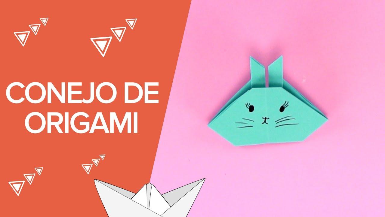 C mo hacer un conejo de origami paso a paso papiroflexia - Papiroflexia paso a paso ...