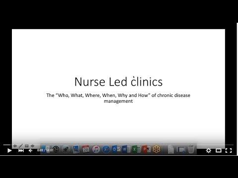 Nurse Led Clinics - Part 1