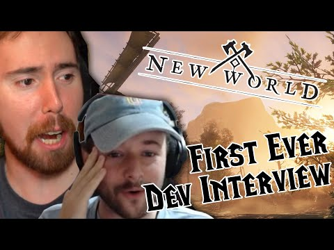 NEW WORLD Developer Interview with Asmongold