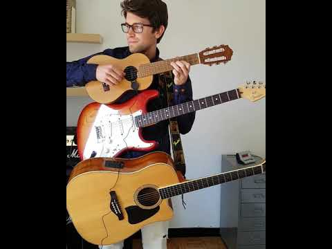 Shape Of You - Ed Sheeran (multiple instruments loop cover)