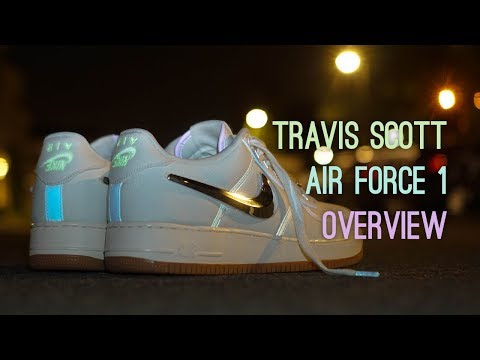 Nike Air Force 1 Travis Scott Sail Overview
