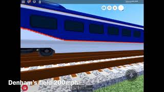 Following a class 374 Eurostar from Denthorpe to Lonchester Isembard in ROBLOX MTG