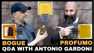 Q&A With Antonio Gardoni of Bogue Profumo For Maai, O/E & MEM Fragrances, 10ml Bottle WW Giveaway