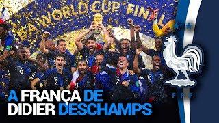 A França de Didier Deschamps 2018 - Análise Tática de Futebol