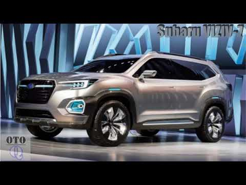 New 2018 Subaru Viziv 7 Concept Specification And Rumors