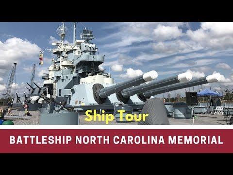 Battleship North Carolina Tour