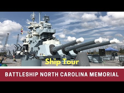 Battleship North Carolina Tour