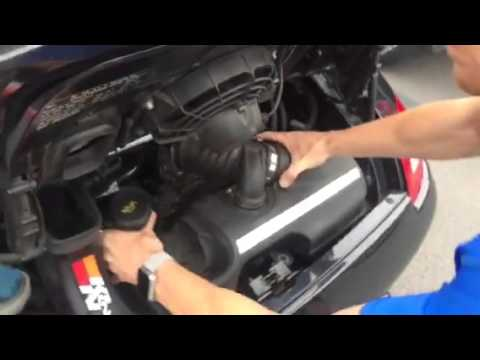 PORSCHE 911 DIY – REPLACE INTAKE AIR CLEANER / FILTER ON – 997 & 996