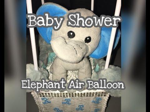 Baby Shower Air Balloon ~DIY~