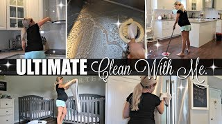 ULTIMATE CLEAN WITH ME 2018 // EXTREME CLEANING MOTIVATION // BEAUTY & THE BEASTONS // NESTING