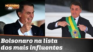 Bolsonaro: do SuperPop para a lista dos 100 mais influentes da Time