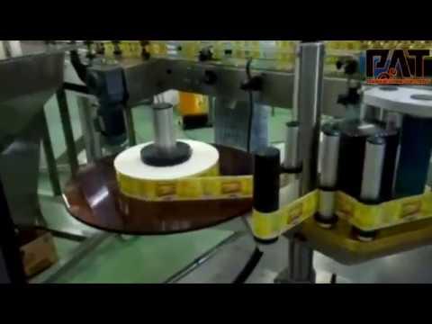Customised Labelling Machine for Square Bottles (like Jack Daniels)