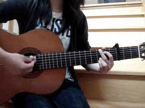 Teardrops On My Guitar (guitar cover)