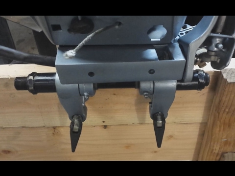 Installing a Steering / Tilt Tube onto a 15 HP Evinrude Outboard
