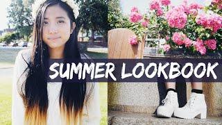 SUMMER LOOKBOOK + VLOG 2014