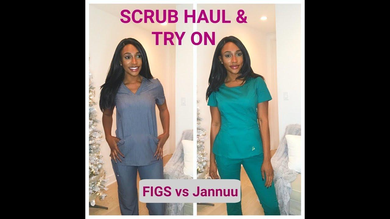 4e087d028fa Nursing Scrubs HAUL / Review ( FIGS and Jaanuu) - YouTube