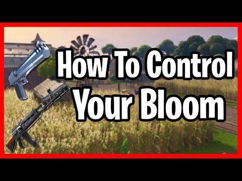 How To Control Bloom In Fortnite! How To Win More Bloom Fights In Fortnite! 3 Tips To Control Bloom!