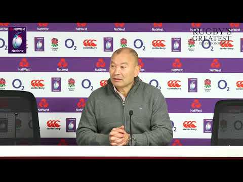 Press Conference: Eddie Jones after defeat to ireland | NatWest 6 Nations