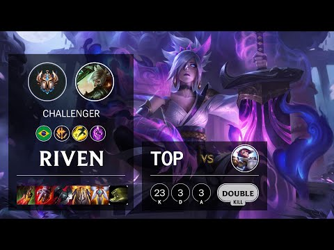 Riven Top vs Fiora - BR Challenger Patch 10.16