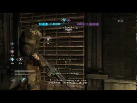 Batman: Arkham Origins - Multiplayer - Bane Gameplay |
