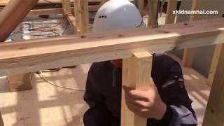 Công việc làm mộc xây dựng ở Nhật Bản