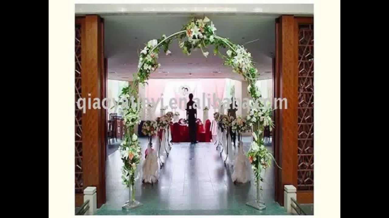 New cheap wedding table decoration ideas youtube for Cheap wedding decorations for tables