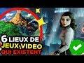 6 LIEUX de JEUX VIDEO qui EXISTENT VRAIMENT