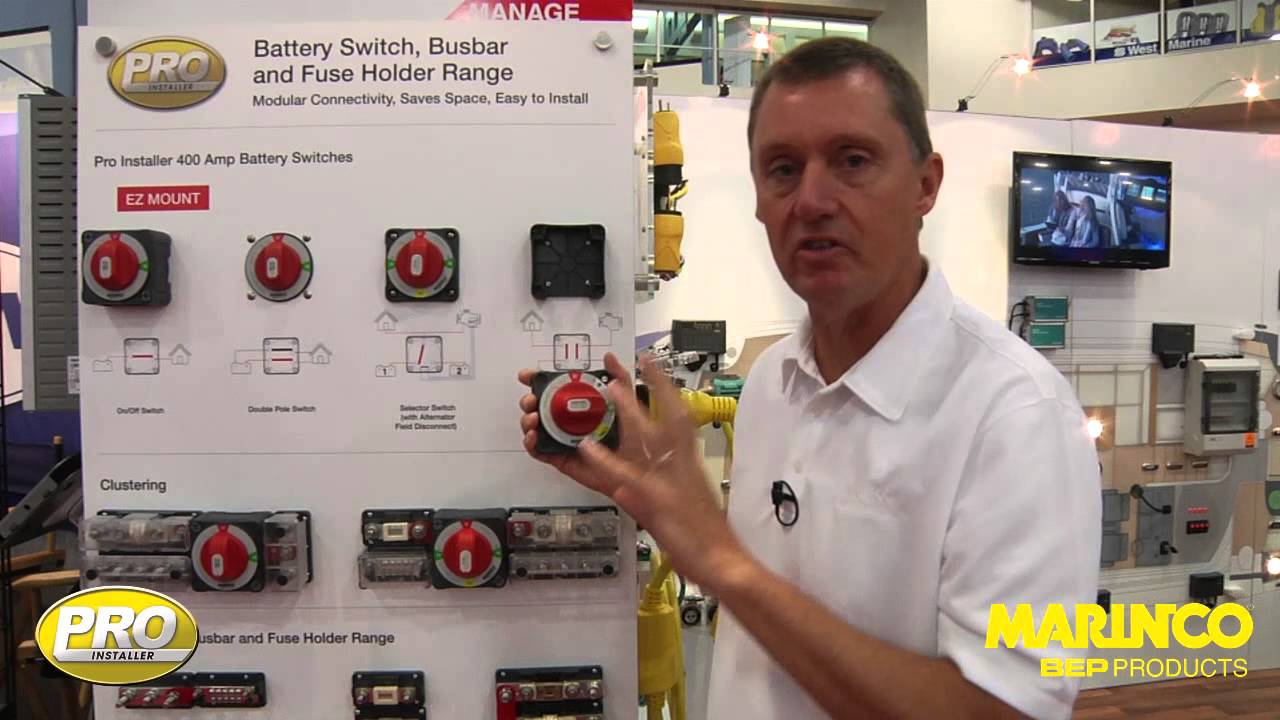 Pro Installer Battery Switch Range Youtube Marine Master Wiring Diagram