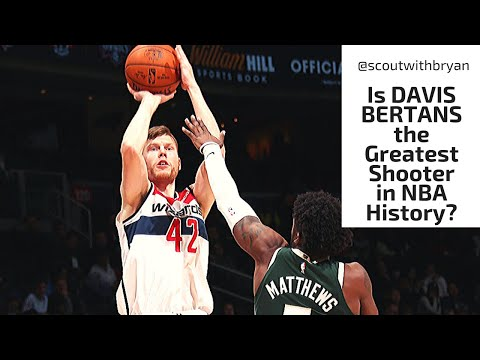 Davis Bertans shooting breakdown