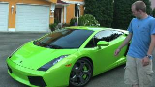 Lamborghini Gallardo Review by 18 Year Old