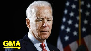 Biden does damage control after controversial comments on black voters l GMA
