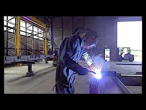 Powell & Co Shobdon Steel Fabrication Site