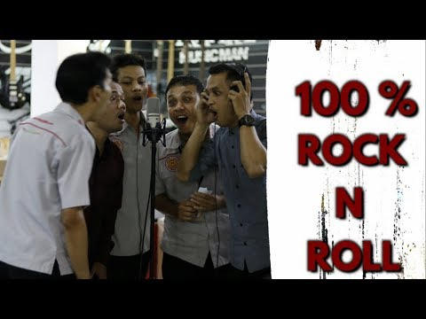 100% ROCK N ROLL - POWERSLAVES ACOUSTIC COVER By MUSIC FOR FUN