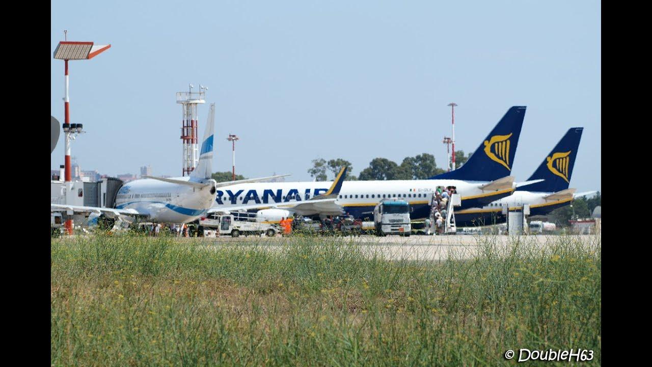 Cagliari - Elmas Airport [CAG-LIEE] : Plane Spotting Part ...