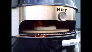Cooking Pizza on the Kettle Grill with KettlePizza