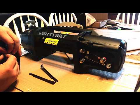 [Project Zombiecon] :: Smittybilt X20 10,000 lb Winch Unboxing & Assembly