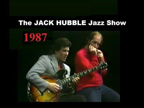 PAT FLEMING - guitar / BRAD HUBAL - harmonica / JACK HUBBLE - saxophone  : 1987 CHICAGO CABLE TV
