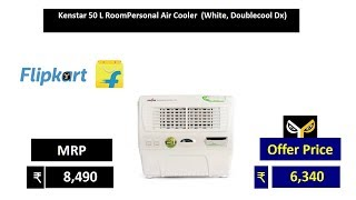 Kenstar 50 L RoomPersonal Air Cooler (White, Doublecool Dx)