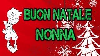 SCHERZO TELEFONICO - Buon natale Nonna