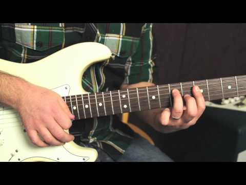 Red Hot Chili Peppers - Dani California - How to Play on Guitar - Guitar Lessons - Tutorial